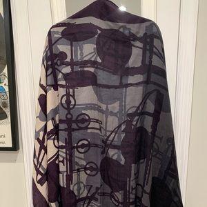 Hermès Silk Cashmere Scarf\wrap\shawl